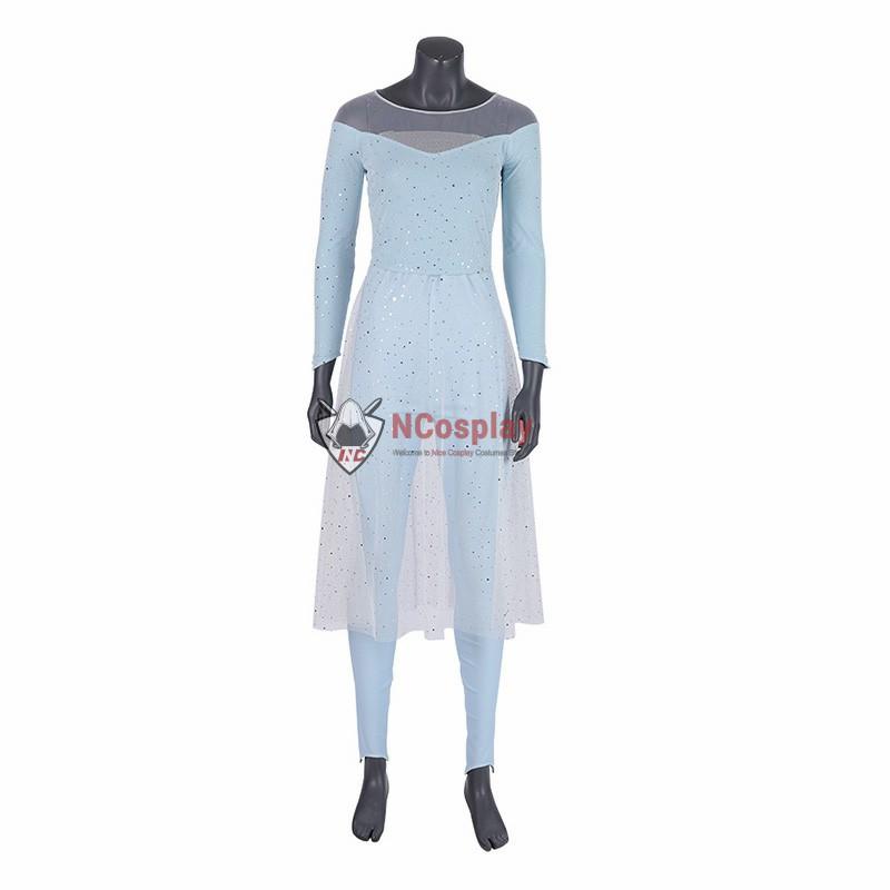 Top Elsa Costume Frozen 2 Cosplay Costume
