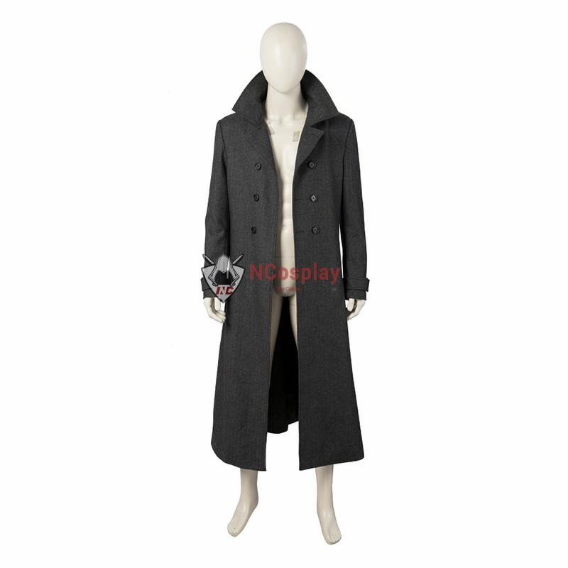 Spider-Man Noir Cosplay Costume Spider-Man Into The Spider Verse Noir Cosplay Costume