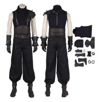 Cloud Strife Costume Final Fantasy 7 Remake Cosplay Costume