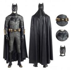 Deluxe Justice League Batman Cosplay Costume Full Set