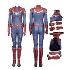 Marvel 2019 Movie Captain Marvel Carol Danvers Cosplay Costume-B Edition