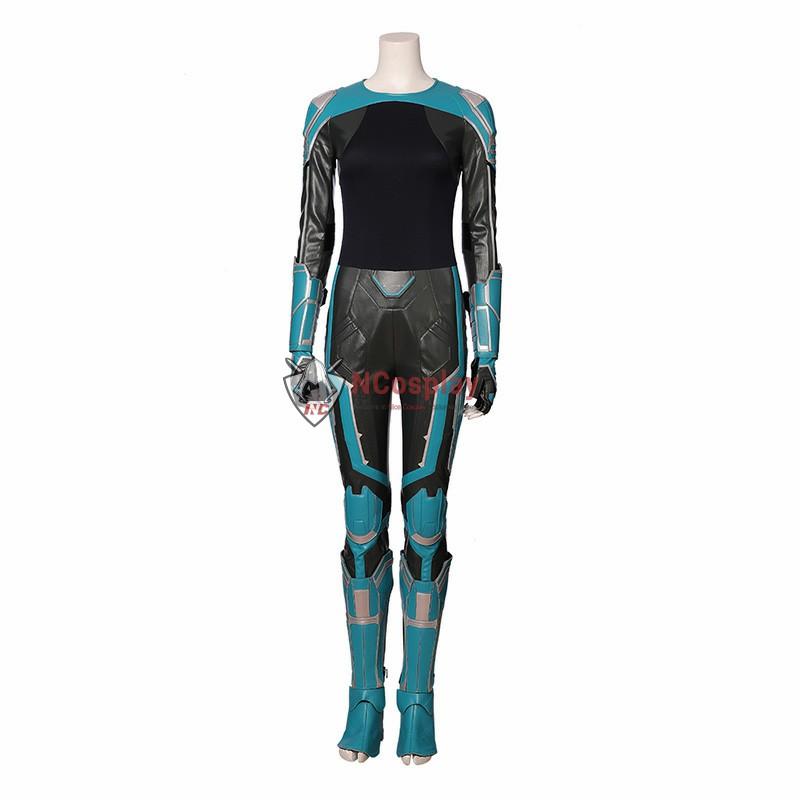 2019 Movie Captain Marvel Costume StarForce Uniform Cosplay Costumes