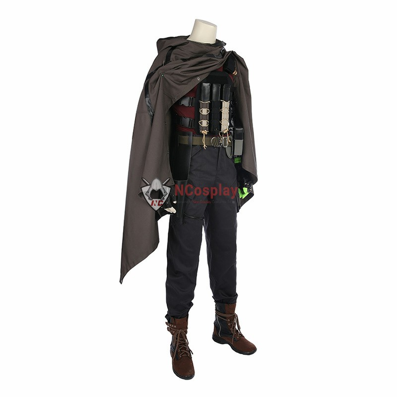 Marvel Movies Nathan Summers Cable Deadpool 2 Cosplay Costume Top Level
