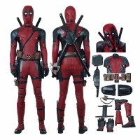 Deadpool 2 Costume Wade Wilson Deadpool Cosplay Costume Top Level