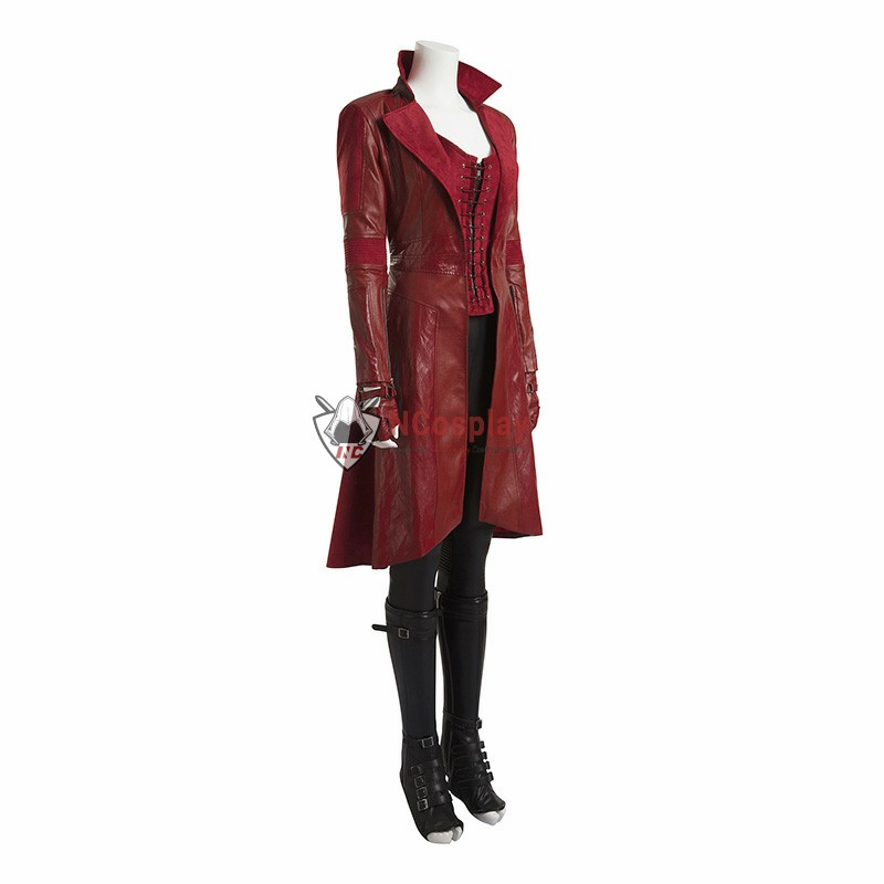 Marvel Captain America Civil War Scarlet Witch Cosplay Costume