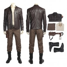 Star Wars 8 The Last Jedi Poe Dameron Outfits Cosplay Costume