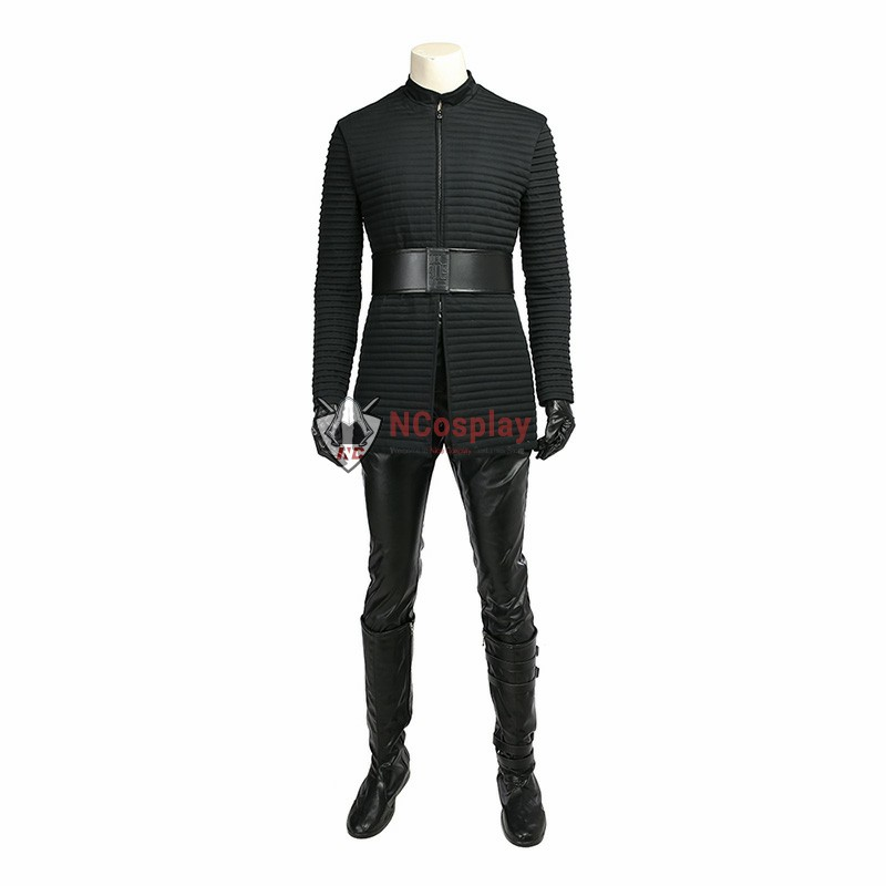 Star Wars 8 The Last Jedi Kylo Ren Outfits Costume Cosplay Deluxe Version Suit