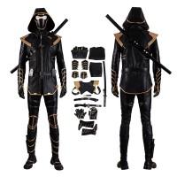 Hawkeye Ninjia Costume Avengers Endgame Clinton Barton Ronin Cosplay Costume