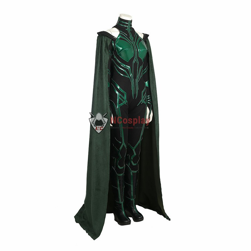 Thor Ragnarok Cosplay Hela Costume Top Level