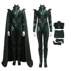 Thor Ragnarok Cosplay Hela Costume Deluxe Black Version