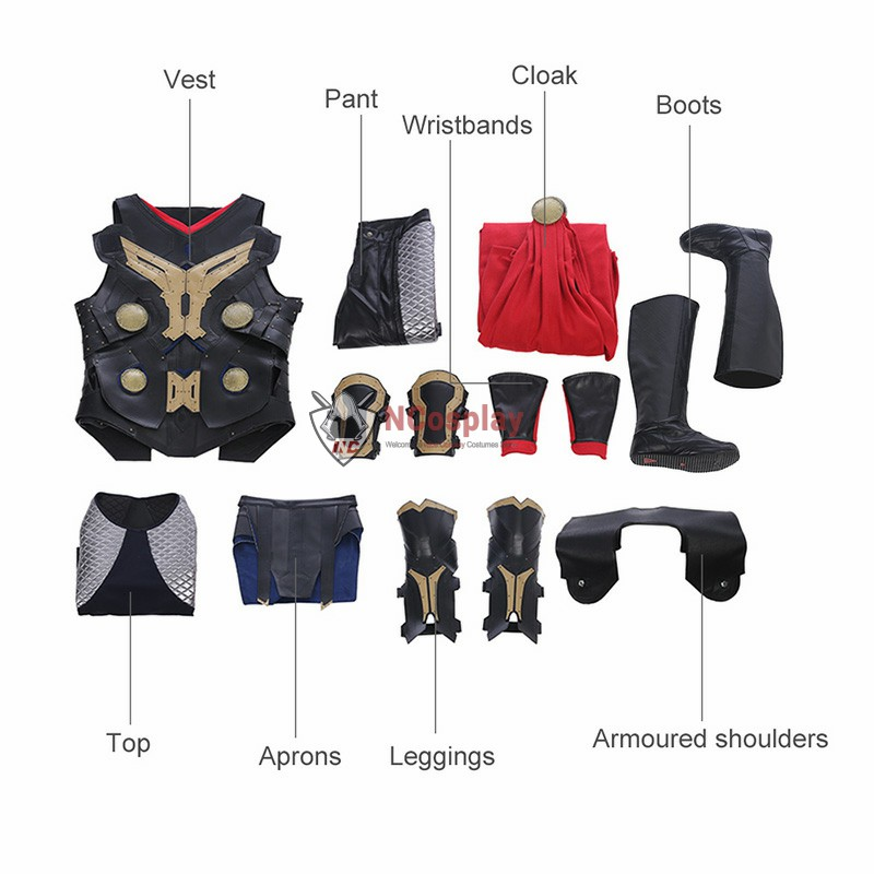 Thor The Dark World Thor Outfit Full Set Top Level Thor Costume