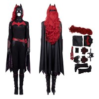 Batwoman Kate Kane Cosplay Costume Top Level