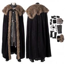 Game Of Thrones Jon Snow Costume Season 8 Cosplay Costumes