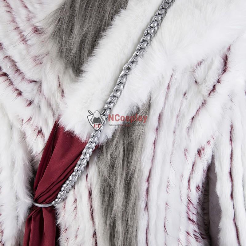 Daenerys Targaryen Costume Game Of Thrones 8 Mother Of Dragons White Cosplay Costumes