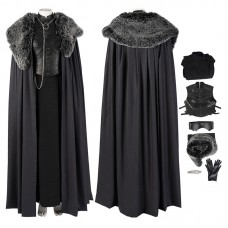 Game Of Thrones 8 Sansa Stark Cosplay Costumes Top Level