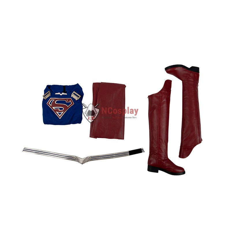 Supergirl Costumes Supergirl Season 5 Kara Zor-El Cosplay Costumes Top Level