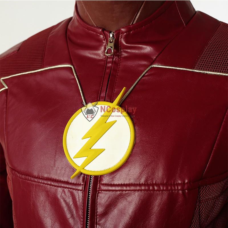 DC The Flash Season 4 Barry Allen Cosplay Costume Top Level