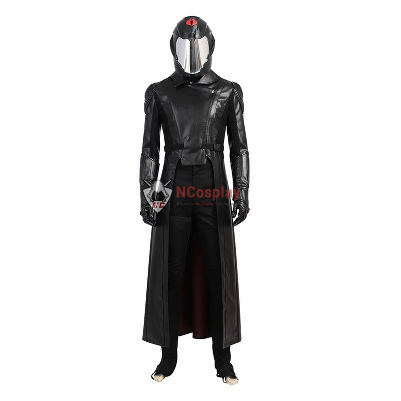 G I Joe The Rise of Cobra Commander Cosplay Costume Full Set