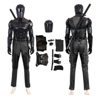 G I Joe Retaliation Snake Eyes Cosplay Costume