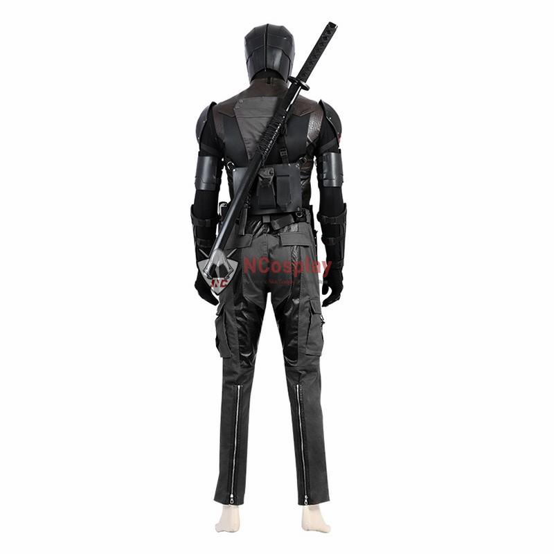 G I Joe Retaliation Snake Eyes Cosplay Costume