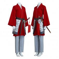 Disney Mulan 2020 Hua Mulan Cosplay Costume Full Set