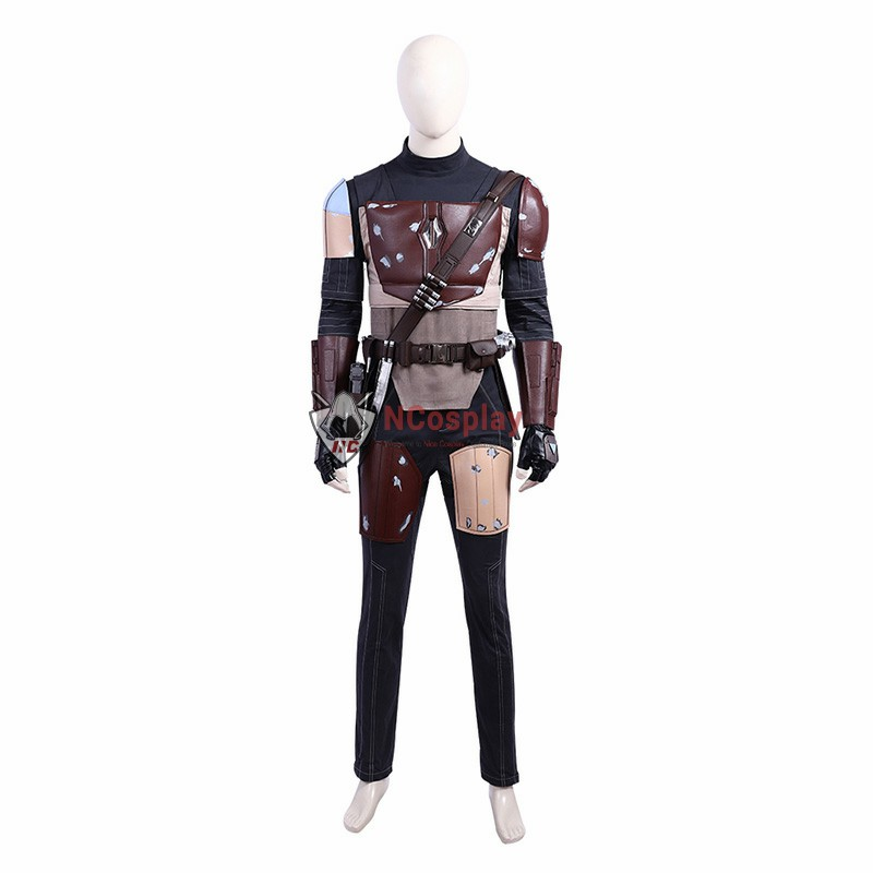 Deluxe DC Crisis On Infinite Earths Mandalorian Cosplay Costume