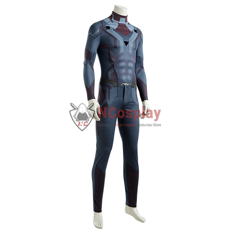 Vision Jumpsuit Wanda Vision Cosplay Costume Full Set