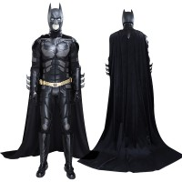 The Dark Knight Batman Bruce Wayne Cosplay Costume Full Set