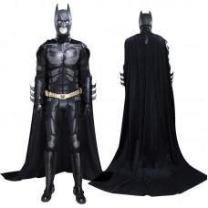 The Dark Knight Batman Bruce Wayne Cosplay Costume Full Set