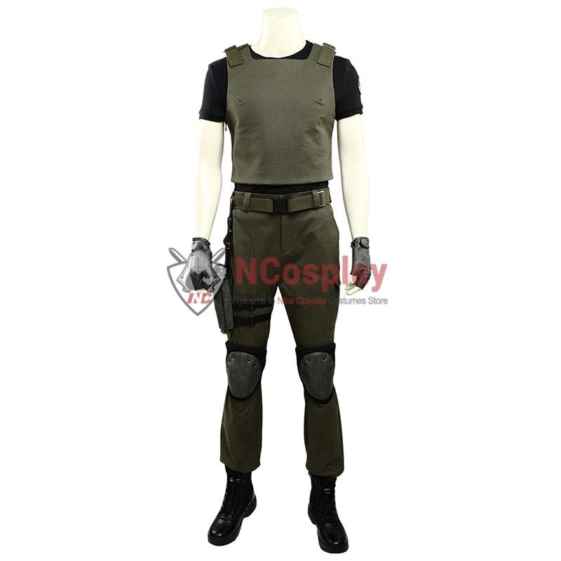 Resident Evil 3 Remake Carlos Oliveira Cosplay Costume Full Set