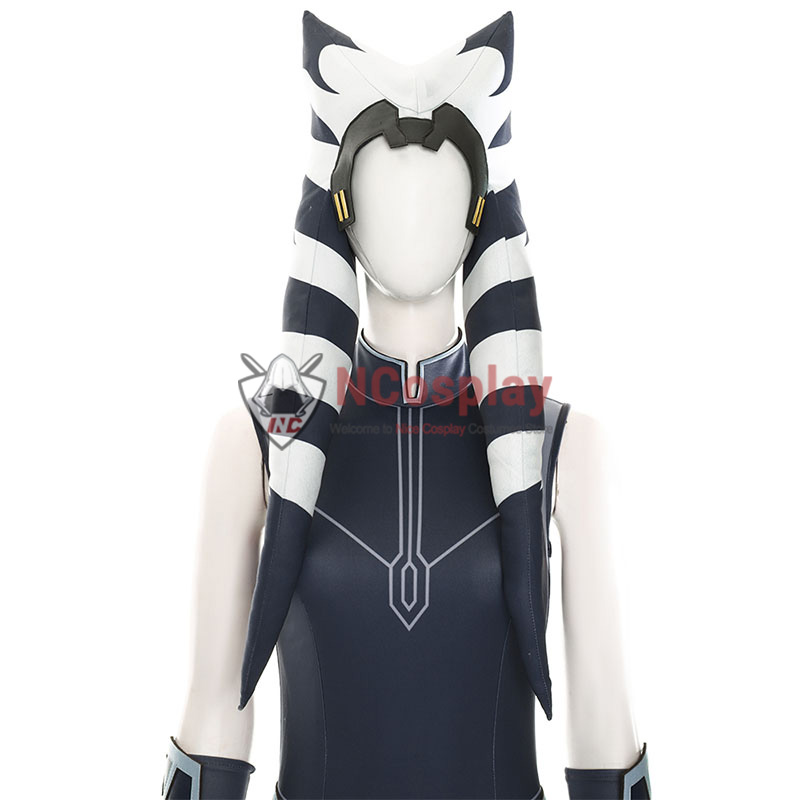 Star Wars The Clone Wars Ahsoka Tano Cosplay Costume Full Set
