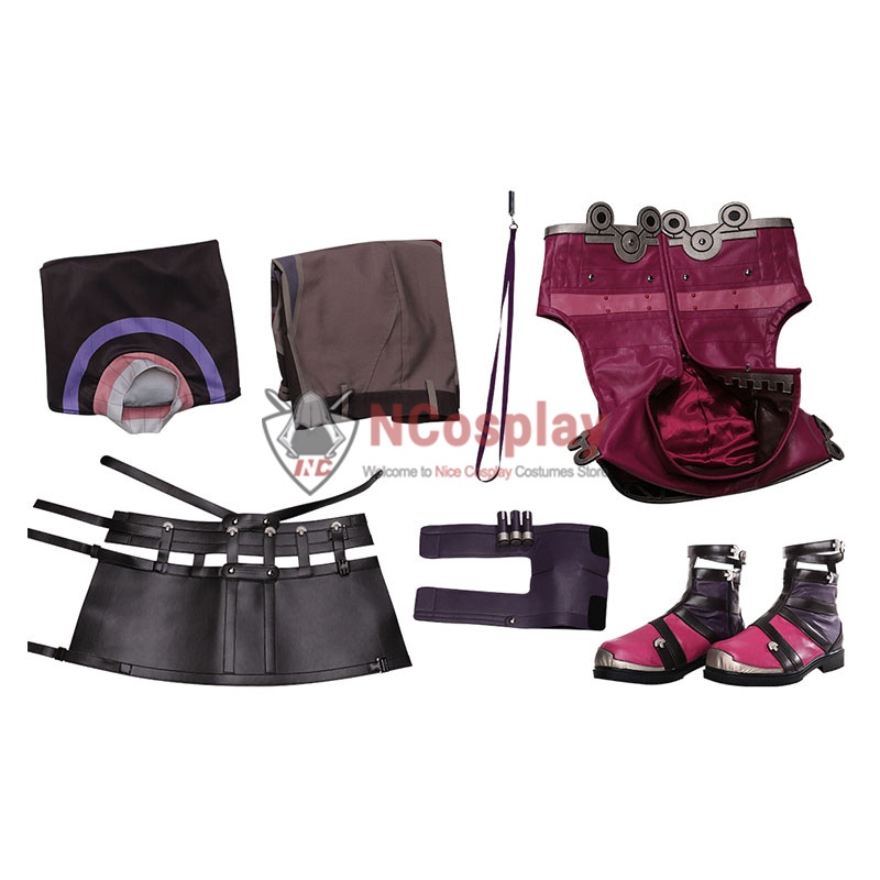 Xenoblade Chronicles Shulk Cosplay Costume Full Set