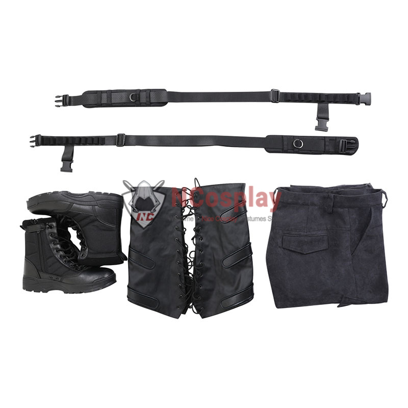 Winter Soldier Bucky Barnes Cosplay Costume Full Set