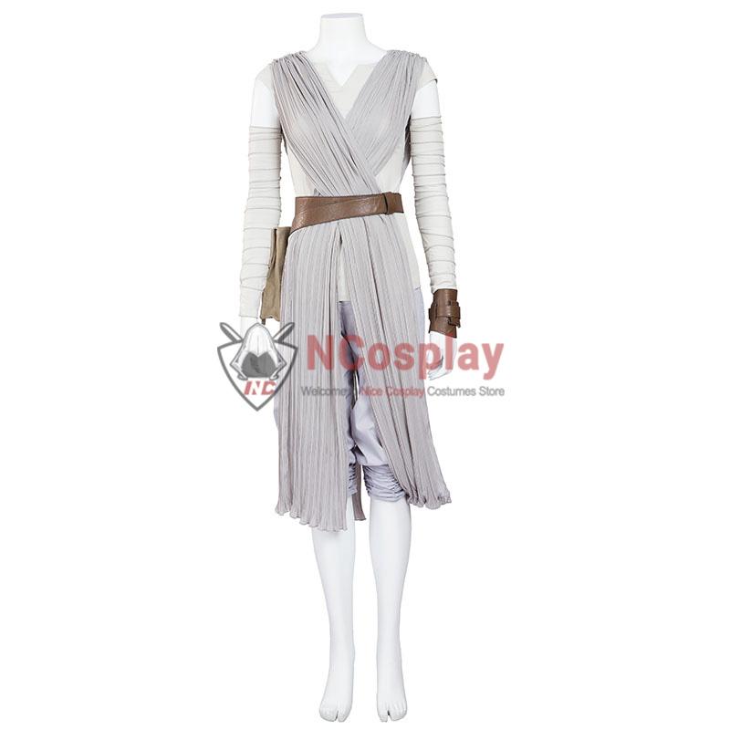 Deluxe Star Wars Rey Cosplay Costume Upgraded Version
