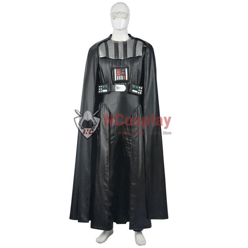 Star Wars Anakin Skywalker Cosplay Costume Darth Vader Outfit