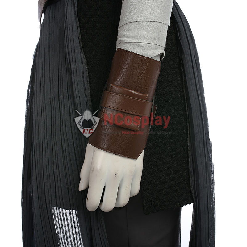 Deluxe Star Wars 8 Rey Cosplay Costume Top Level