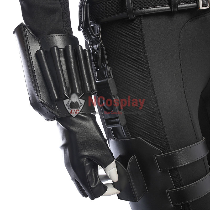 Avengers Infinity War Cosplay Costume Black Widow Suit