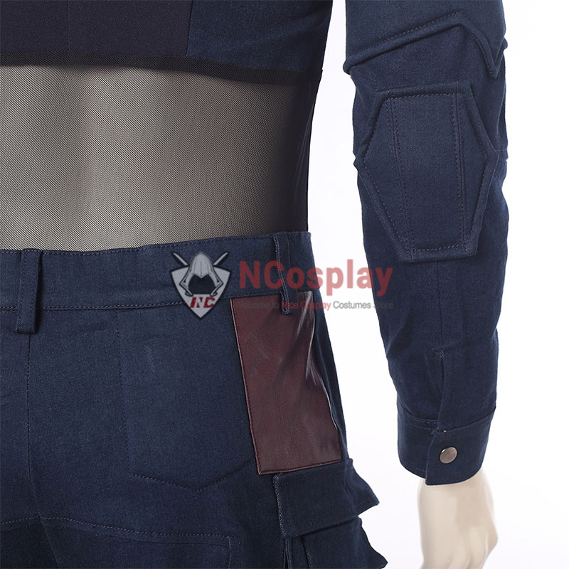 Avengers Infinity War Steve Rogers Outfit Captain America Cosplay Costume