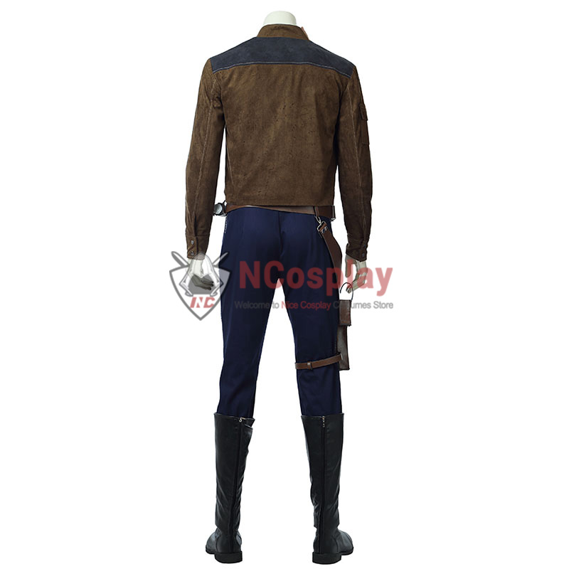 Solo A Star Wars Story Cosplay Costume Han Solo Outfit