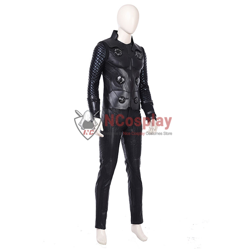 Deluxe Marvel Avengers Infinity War Thor Odinson Cosplay Costume