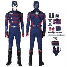 US Agent John Walker The Falcon and The Winter Soldier Outfit Captain America Cosplay Costume