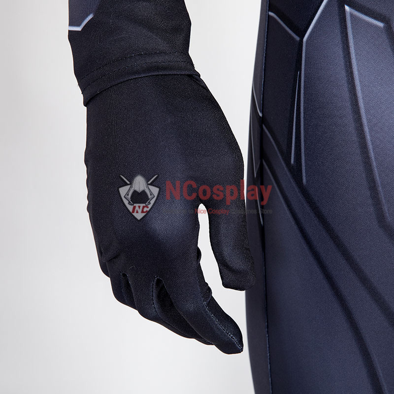 Deluxe Titans Nightwing Dick Grayson Costume Cosplay