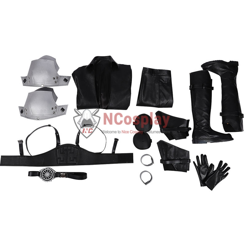 Final Fantasy VII Remake Cosplay Costume Sephiroth Outfit