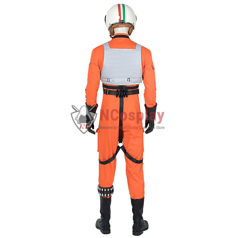 Star Wars Luke Skywalker X-Wing Pilot Fighter Cosplay Costume Suit