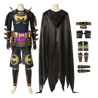 DC Batman Ninja Bruce Wayne Cosplay Costume Full Set