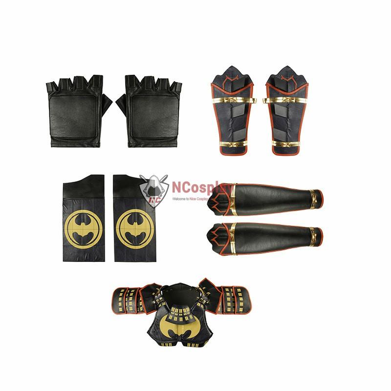 DC Batman Ninja Bruce Wayne Cosplay Costume Full Set