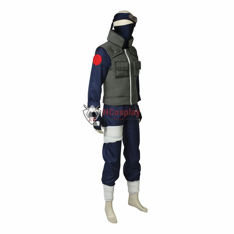 Deluxe Naruto Hatake Kakashi Cosplay Costume