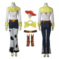 Disney Pixar Toy Story 2 Jessie Cosplay Costume Full Set