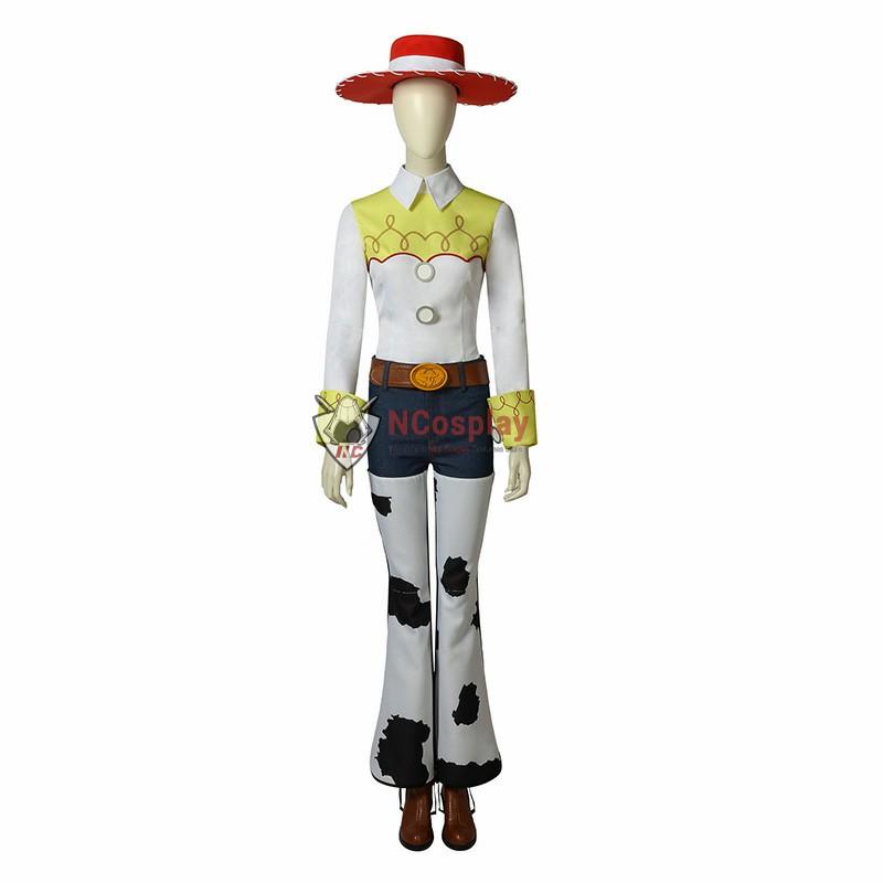 Disney Pixar Toy Story 2 Jessie Cosplay Costume Full Set