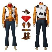 Disney Pixar Toy Story Woody Cosplay Costume Full Set